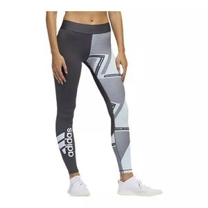 Adidas Women's All Over Print Long Tights NWT